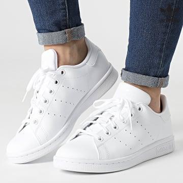 https://laboutiqueofficielle-res.cloudinary.com/image/upload/v1627646526/Desc/Watermark/3adidas_orginal.svg Adidas Originals - Baskets Femme Stan Smith FX7520 Cloud White