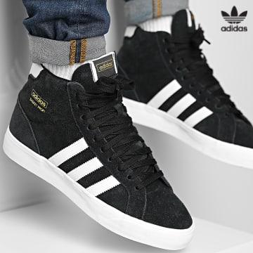 https://laboutiqueofficielle-res.cloudinary.com/image/upload/v1627646526/Desc/Watermark/3adidas_orginal.svg Adidas Originals - Baskets Profi FW3100 Core Black Cloud White Gold Metallic