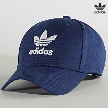 https://laboutiqueofficielle-res.cloudinary.com/image/upload/v1627646526/Desc/Watermark/3adidas_orginal.svg Adidas Originals - Casquette Classic Trefoil H34569 Bleu Roi