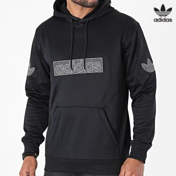 https://laboutiqueofficielle-res.cloudinary.com/image/upload/v1627646526/Desc/Watermark/3adidas_orginal.svg Adidas Originals - Sweat Capuche Logo H06741 Noir