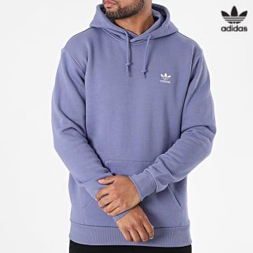 https://laboutiqueofficielle-res.cloudinary.com/image/upload/v1627646526/Desc/Watermark/3adidas_orginal.svg Adidas Originals - Sweat Capuche Essential H34651 Lavande
