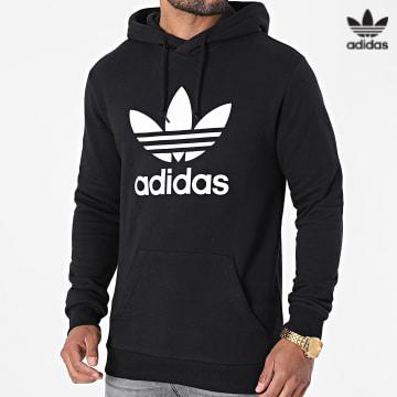 https://laboutiqueofficielle-res.cloudinary.com/image/upload/v1627646526/Desc/Watermark/3adidas_orginal.svg Adidas Originals - Sweat Capuche Trefoil H06667 Noir