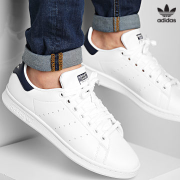 https://laboutiqueofficielle-res.cloudinary.com/image/upload/v1627646526/Desc/Watermark/3adidas_orginal.svg Adidas Originals - Baskets Stan Smith FX5501 Footwear White Core Navy