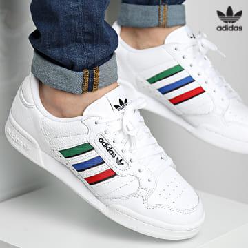 https://laboutiqueofficielle-res.cloudinary.com/image/upload/v1627646526/Desc/Watermark/3adidas_orginal.svg Adidas Originals - Baskets Continental 80 GW0181 Footwear White Core Black Blue Bird