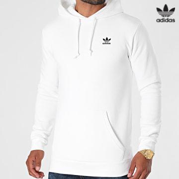https://laboutiqueofficielle-res.cloudinary.com/image/upload/v1627646526/Desc/Watermark/3adidas_orginal.svg Adidas Originals - Sweat Capuche Essential H34654 Blanc