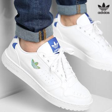 https://laboutiqueofficielle-res.cloudinary.com/image/upload/v1627646526/Desc/Watermark/3adidas_orginal.svg Adidas Originals - Baskets NY 90 H02170 Cloud White Royal Blue