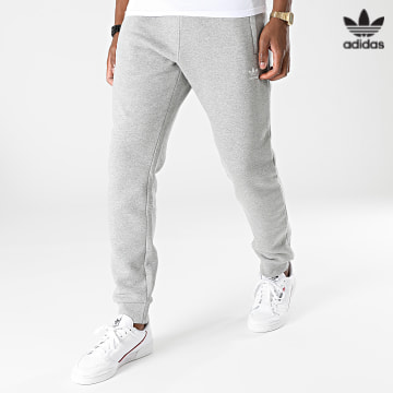 https://laboutiqueofficielle-res.cloudinary.com/image/upload/v1627646526/Desc/Watermark/3adidas_orginal.svg Adidas Originals - Pantalon Jogging Essentials H34659 Gris Chiné