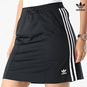https://laboutiqueofficielle-res.cloudinary.com/image/upload/v1627646526/Desc/Watermark/3adidas_orginal.svg Adidas Originals - Jupe Femme H37774 Noir