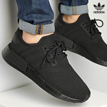 https://laboutiqueofficielle-res.cloudinary.com/image/upload/v1627646526/Desc/Watermark/3adidas_orginal.svg Adidas Originals - Baskets NMD Primeblue GZ9256 Core Black