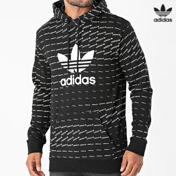 https://laboutiqueofficielle-res.cloudinary.com/image/upload/v1627646526/Desc/Watermark/3adidas_orginal.svg Adidas Originals - Sweat Capuche Mono H13492 Noir