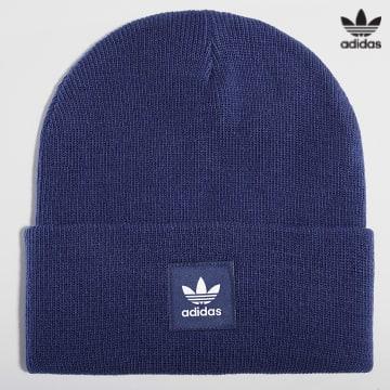 https://laboutiqueofficielle-res.cloudinary.com/image/upload/v1627646526/Desc/Watermark/3adidas_orginal.svg Adidas Originals - Bonnet H35508 Bleu Marine