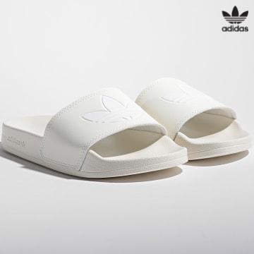 https://laboutiqueofficielle-res.cloudinary.com/image/upload/v1627646526/Desc/Watermark/3adidas_orginal.svg Adidas Originals - Claquettes Femme Adilette Lite H05679 Off White