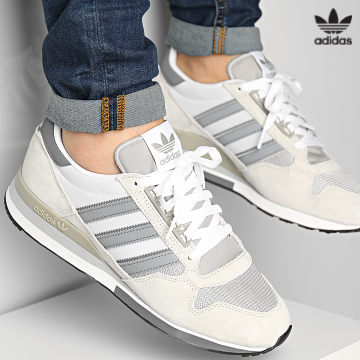 https://laboutiqueofficielle-res.cloudinary.com/image/upload/v1627646526/Desc/Watermark/3adidas_orginal.svg Adidas Originals - Baskets ZX500 H02112 Orb Grey Grey Four Cloud White