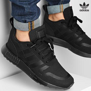 https://laboutiqueofficielle-res.cloudinary.com/image/upload/v1627646526/Desc/Watermark/3adidas_orginal.svg Adidas Originals - Baskets Multix H05459 Core Black Carbon