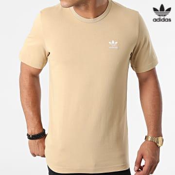 https://laboutiqueofficielle-res.cloudinary.com/image/upload/v1627646526/Desc/Watermark/3adidas_orginal.svg Adidas Originals - Tee Shirt Essential H34634 Beige