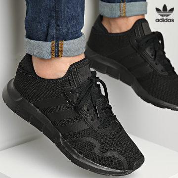 https://laboutiqueofficielle-res.cloudinary.com/image/upload/v1627646526/Desc/Watermark/3adidas_orginal.svg Adidas Originals - Baskets Swift Run X FY2116 Core Black