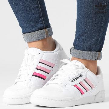 https://laboutiqueofficielle-res.cloudinary.com/image/upload/v1627646526/Desc/Watermark/3adidas_orginal.svg Adidas Originals - Baskets Continental 80 Stripes GZ7037 Cloud White Core Black Light Pink