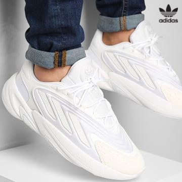 https://laboutiqueofficielle-res.cloudinary.com/image/upload/v1627646526/Desc/Watermark/3adidas_orginal.svg Adidas Originals - Baskets Ozelia H04251 Cloud White Crystal White