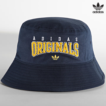 https://laboutiqueofficielle-res.cloudinary.com/image/upload/v1627646526/Desc/Watermark/3adidas_orginal.svg Adidas Originals - Bob HC3052 Bleu Marine