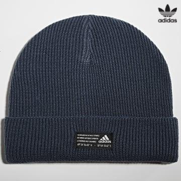 https://laboutiqueofficielle-res.cloudinary.com/image/upload/v1627646526/Desc/Watermark/3adidas_orginal.svg Adidas Originals - Bonnet Perf Woolie GS2111 Bleu Marine