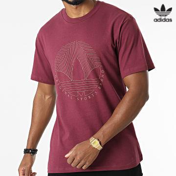 https://laboutiqueofficielle-res.cloudinary.com/image/upload/v1627646526/Desc/Watermark/3adidas_orginal.svg Adidas Originals - Tee Shirt H31333 Bordeaux