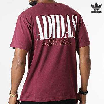 https://laboutiqueofficielle-res.cloudinary.com/image/upload/v1627646526/Desc/Watermark/3adidas_orginal.svg Adidas Originals - Tee Shirt H31331 Bordeaux