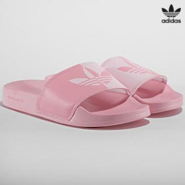 https://laboutiqueofficielle-res.cloudinary.com/image/upload/v1627646526/Desc/Watermark/3adidas_orginal.svg Adidas Originals - Claquettes Femme Adilette Lite H00134 Rose