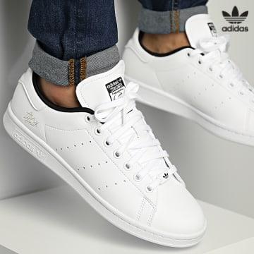 https://laboutiqueofficielle-res.cloudinary.com/image/upload/v1627646526/Desc/Watermark/3adidas_orginal.svg Adidas Originals - Baskets Stan Smith H00309 Cloud White Core Black