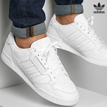 https://laboutiqueofficielle-res.cloudinary.com/image/upload/v1627646526/Desc/Watermark/3adidas_orginal.svg Adidas Originals - Baskets Continental 80 Stripes GW0188 Footwear White