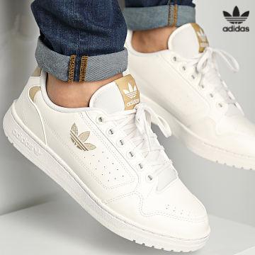 https://laboutiqueofficielle-res.cloudinary.com/image/upload/v1627646526/Desc/Watermark/3adidas_orginal.svg Adidas Originals - Baskets NY 90 GX6540 Cream White Beige Tone