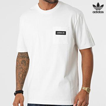 https://laboutiqueofficielle-res.cloudinary.com/image/upload/v1627646526/Desc/Watermark/3adidas_orginal.svg Adidas Originals - Tee Shirt H09092 blanc