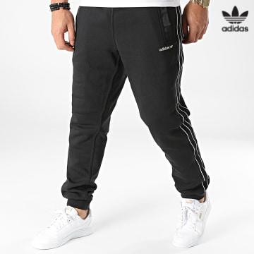 https://laboutiqueofficielle-res.cloudinary.com/image/upload/v1627646526/Desc/Watermark/3adidas_orginal.svg Adidas Originals - Pantalon Jogging A Bandes H31288 Noir