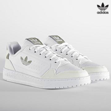 https://laboutiqueofficielle-res.cloudinary.com/image/upload/v1627646526/Desc/Watermark/3adidas_orginal.svg Adidas Originals - Baskets NY 90 GW6414 Footwear White Orb Green