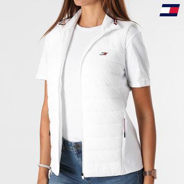 https://laboutiqueofficielle-res.cloudinary.com/image/upload/v1627646949/Desc/Watermark/10logo_tommy_sport.svg Tommy Sport - Doudoune Sans Manches Femme Padded Gilet 1038 Blanc