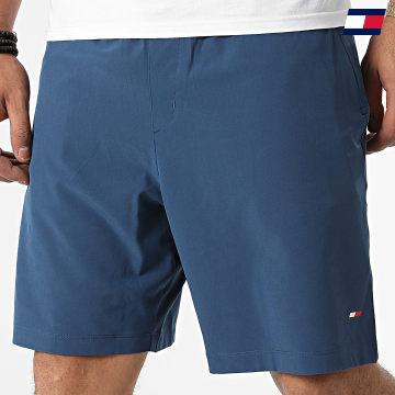 https://laboutiqueofficielle-res.cloudinary.com/image/upload/v1627646949/Desc/Watermark/10logo_tommy_sport.svg Tommy Sport - Short Jogging 7257 Bleu