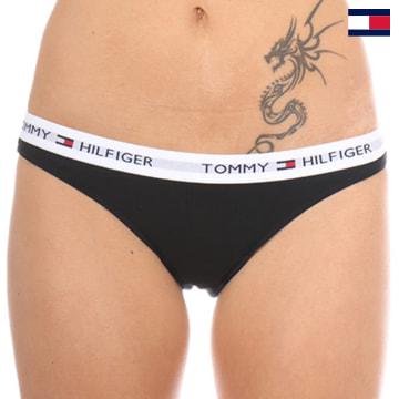 https://laboutiqueofficielle-res.cloudinary.com/image/upload/v1627647047/Desc/Watermark/7logo_tommy_hilfiger.svg Tommy Hilfiger - Culotte Femme Bikini Iconic Noir