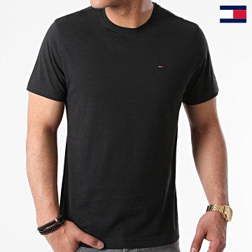 https://laboutiqueofficielle-res.cloudinary.com/image/upload/v1627647047/Desc/Watermark/7logo_tommy_hilfiger.svg Tommy Hilfiger - Tee Shirt Original 4411 Noir