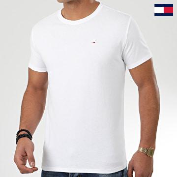 https://laboutiqueofficielle-res.cloudinary.com/image/upload/v1627647047/Desc/Watermark/7logo_tommy_hilfiger.svg Tommy Hilfiger - Tee Shirt Original 4411 Blanc