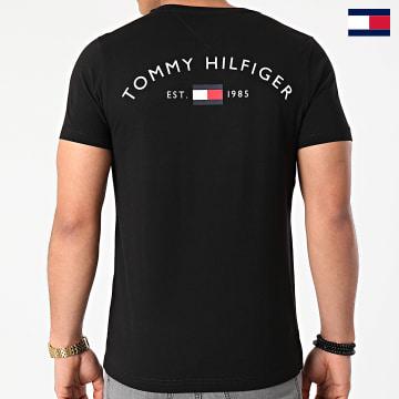 https://laboutiqueofficielle-res.cloudinary.com/image/upload/v1627647047/Desc/Watermark/7logo_tommy_hilfiger.svg Tommy Hilfiger - Tee Shirt Back Logo 7681 Noir
