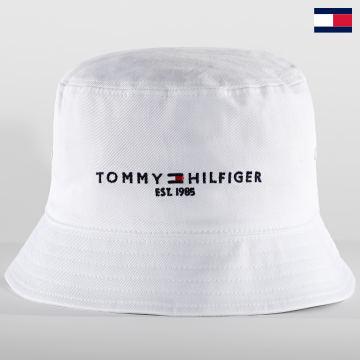 https://laboutiqueofficielle-res.cloudinary.com/image/upload/v1627647047/Desc/Watermark/7logo_tommy_hilfiger.svg Tommy Hilfiger - Bob Established 7354 Blanc