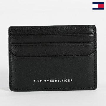 https://laboutiqueofficielle-res.cloudinary.com/image/upload/v1627647047/Desc/Watermark/7logo_tommy_hilfiger.svg Tommy Hilfiger - Porte-cartes Metro CC Holder 7290 Noir