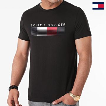 https://laboutiqueofficielle-res.cloudinary.com/image/upload/v1627647047/Desc/Watermark/7logo_tommy_hilfiger.svg Tommy Hilfiger - Tee Shirt Fade Graphic Corp 1008 Noir