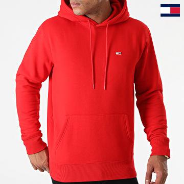https://laboutiqueofficielle-res.cloudinary.com/image/upload/v1627647047/Desc/Watermark/7logo_tommy_hilfiger.svg Tommy Hilfiger - Sweat Capuche Regular Fleece 9593 Rouge