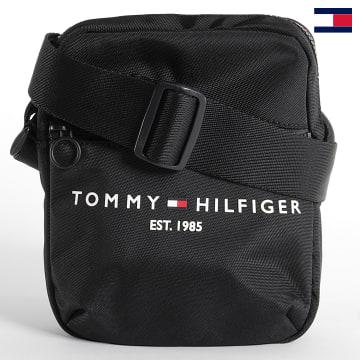 https://laboutiqueofficielle-res.cloudinary.com/image/upload/v1627647047/Desc/Watermark/7logo_tommy_hilfiger.svg Tommy Hilfiger - Sacoche Established Mini Reporter 8016 Noir