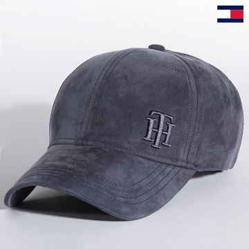 https://laboutiqueofficielle-res.cloudinary.com/image/upload/v1627647047/Desc/Watermark/7logo_tommy_hilfiger.svg Tommy Hilfiger - Casquette Logo Cap 0058 Bleu Marine