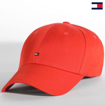 https://laboutiqueofficielle-res.cloudinary.com/image/upload/v1627647047/Desc/Watermark/7logo_tommy_hilfiger.svg Tommy Hilfiger - Casquette BB Cap 7342 Orange
