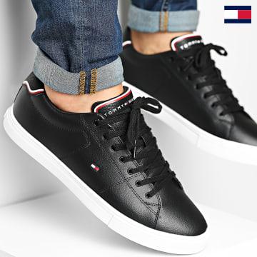 https://laboutiqueofficielle-res.cloudinary.com/image/upload/v1627647047/Desc/Watermark/7logo_tommy_hilfiger.svg Tommy Hilfiger - Baskets Essential Leather 3739 Black