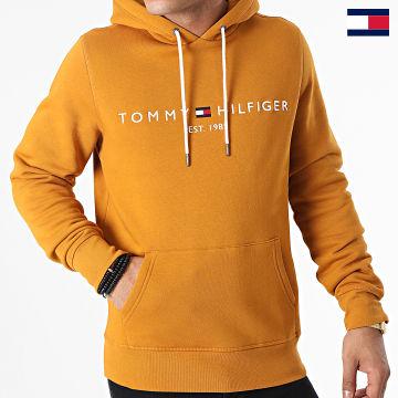 https://laboutiqueofficielle-res.cloudinary.com/image/upload/v1627647047/Desc/Watermark/7logo_tommy_hilfiger.svg Tommy Hilfiger - Sweat Capuche Tommy Logo 1599 Camel