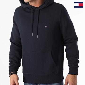 https://laboutiqueofficielle-res.cloudinary.com/image/upload/v1627647047/Desc/Watermark/7logo_tommy_hilfiger.svg Tommy Hilfiger - Sweat Capuche Basic Flag 7022 Bleu Marine
