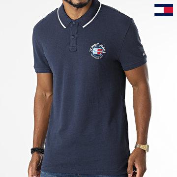 https://laboutiqueofficielle-res.cloudinary.com/image/upload/v1627647047/Desc/Watermark/7logo_tommy_hilfiger.svg Tommy Hilfiger - Polo Manches Courtes Timeless 1340 Bleu Marine